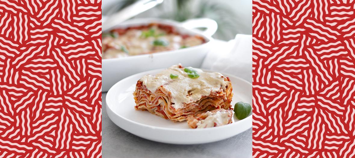 Recette lasagnes à la bolognaise végétale