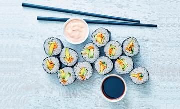 Comment faire de bons makis veggie ?