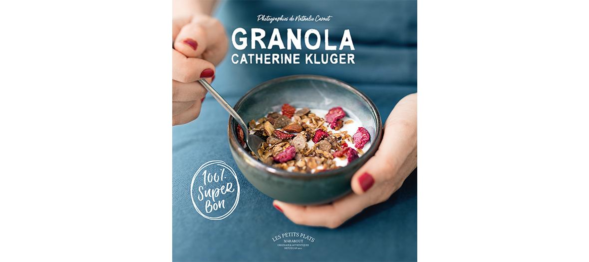 Livre de recettes de Catherine Kluger, éditions Marabout