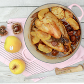 Recette Pintade Pommes Chataignes