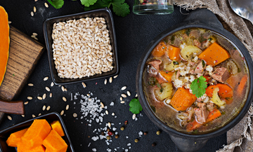 Instant beef-carrot stew !