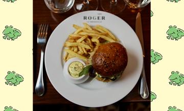 Recette du burger de grenouille du restaurant Roger la grenouille