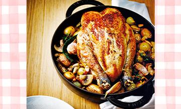 Le poulet rôti façon grand-mère d'Éric Frechon