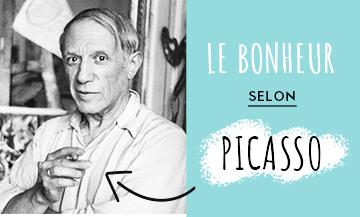 Pablo Picasso dans son atelier