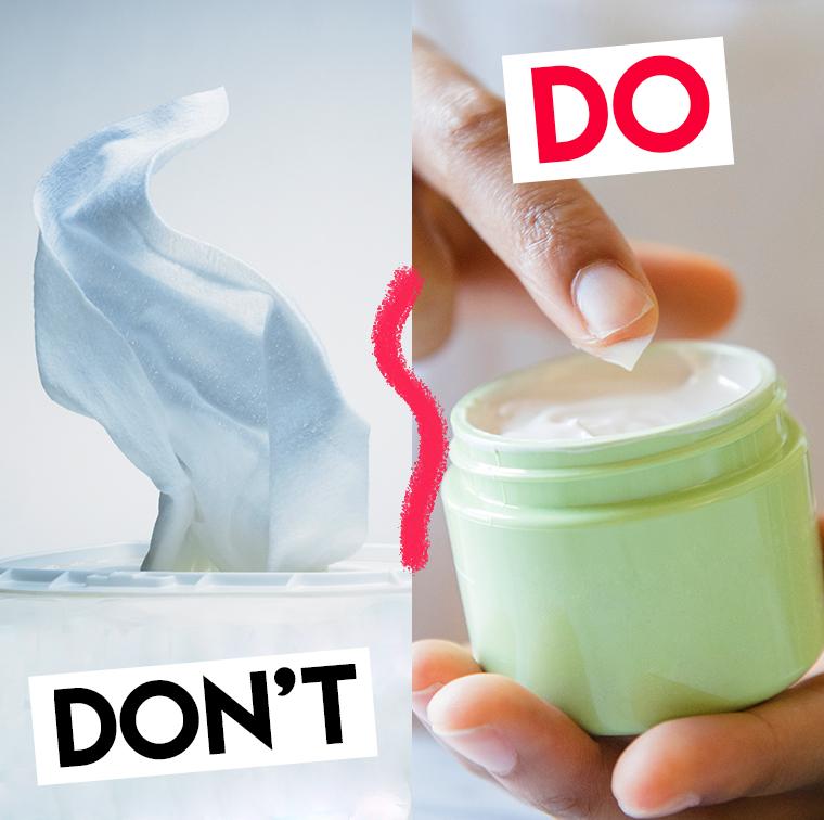 Crèmes hydratantes pour les parties intimes