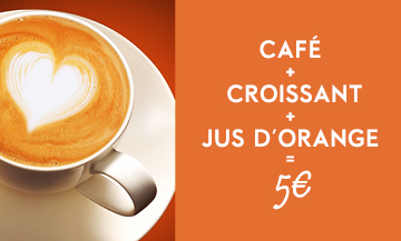 A charity breakfast with inès de la fressange for 5 €