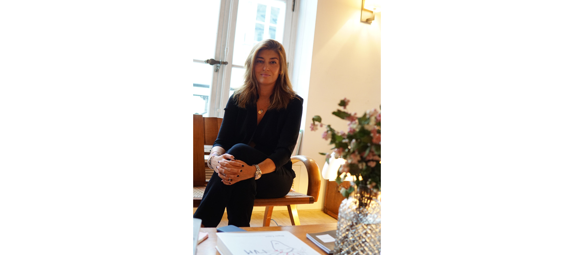 Portrait of Véronique Forge Karibian founder of the digital magazine Business O Feminine