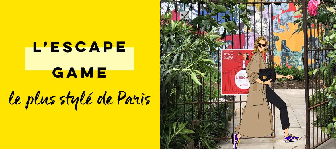 Coca Cola Escape Game at he Palais de Tokyo in Paris