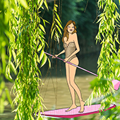 Faire du paddle avec Le Grand Huit