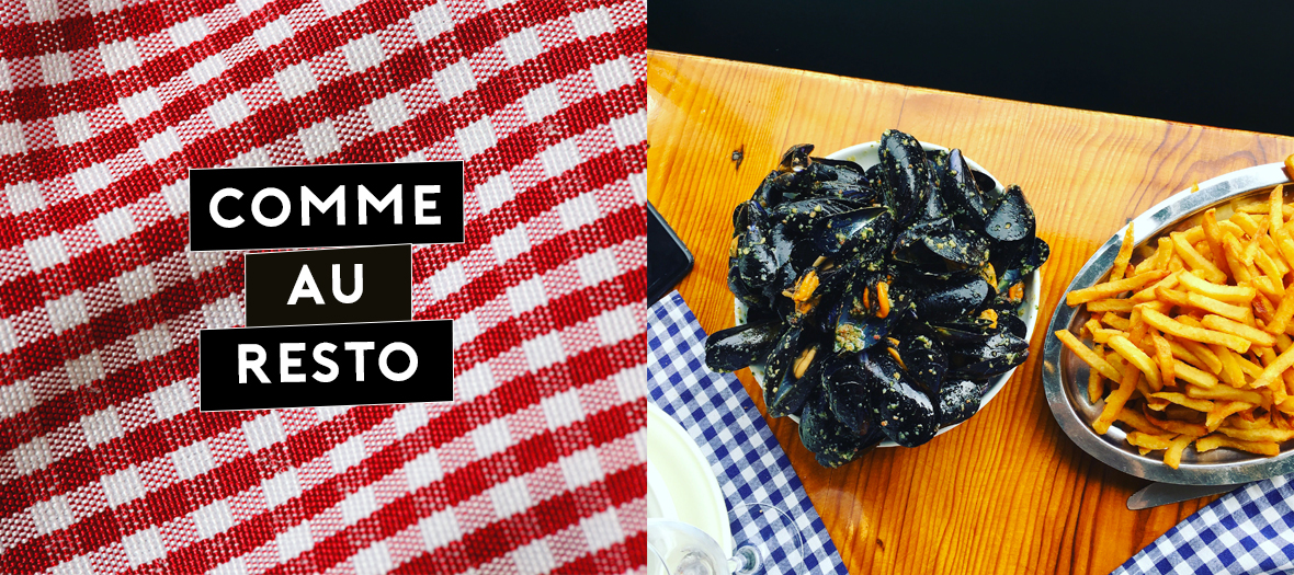 Recette de moules frites du restaurant Chez Hortense