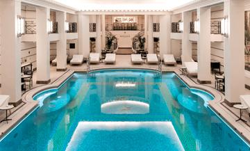 Ritz Club spa with swimming pool, sauna, hammam in Paris