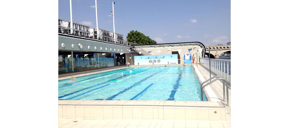 Bronzette piscine Joséphine Baker
