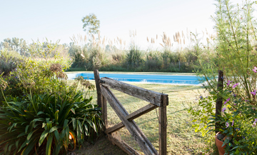 Outdoor Swimming pool in the countryside