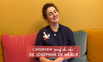 Interview with Joséphine de Meaux