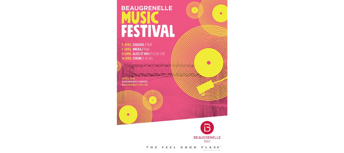 Festival de musique à Beaugrenelle