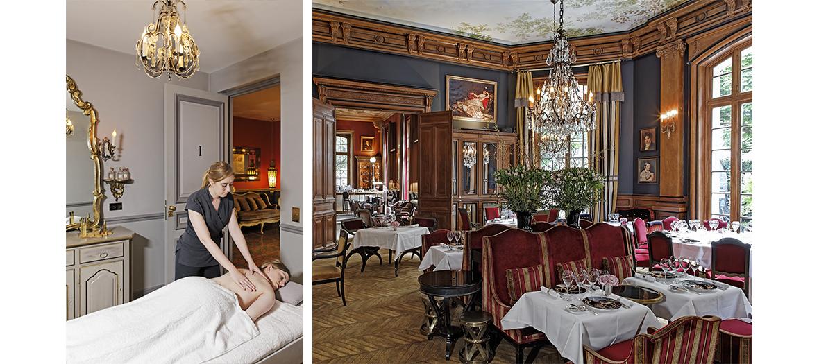 Spa et brunch au château-hôtel Guerlain