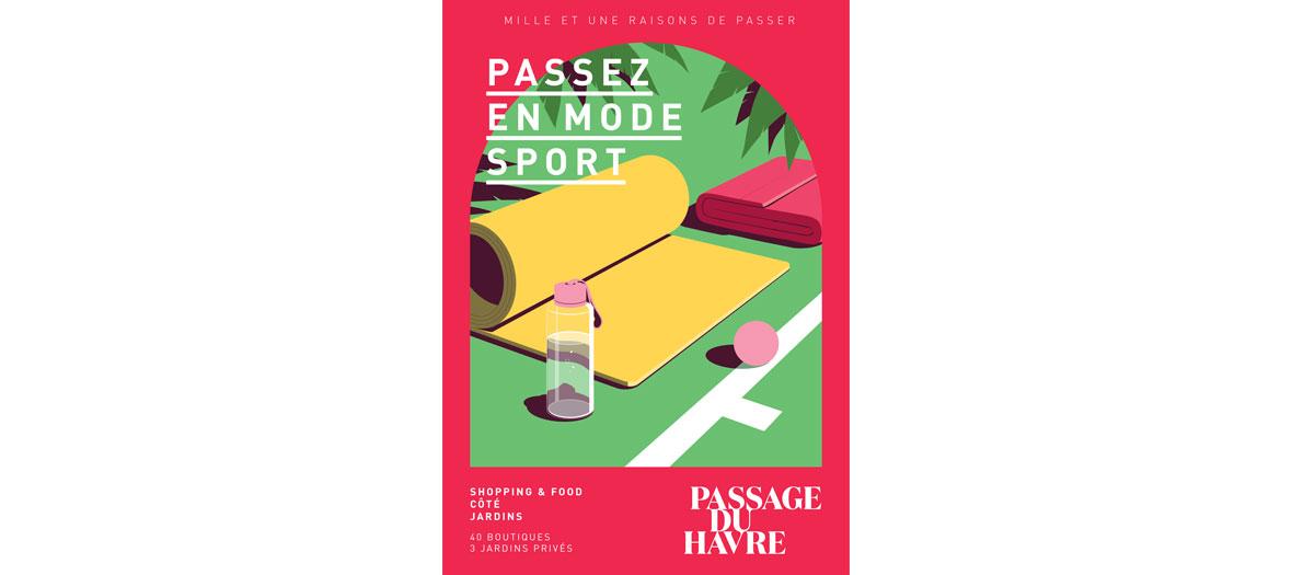 Séance de sport passage du Havre