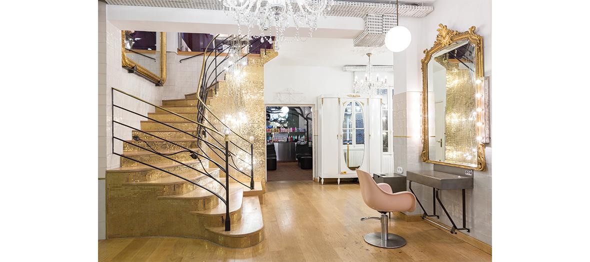 Clim de coiffeur à Saint-Germain-des-Prés