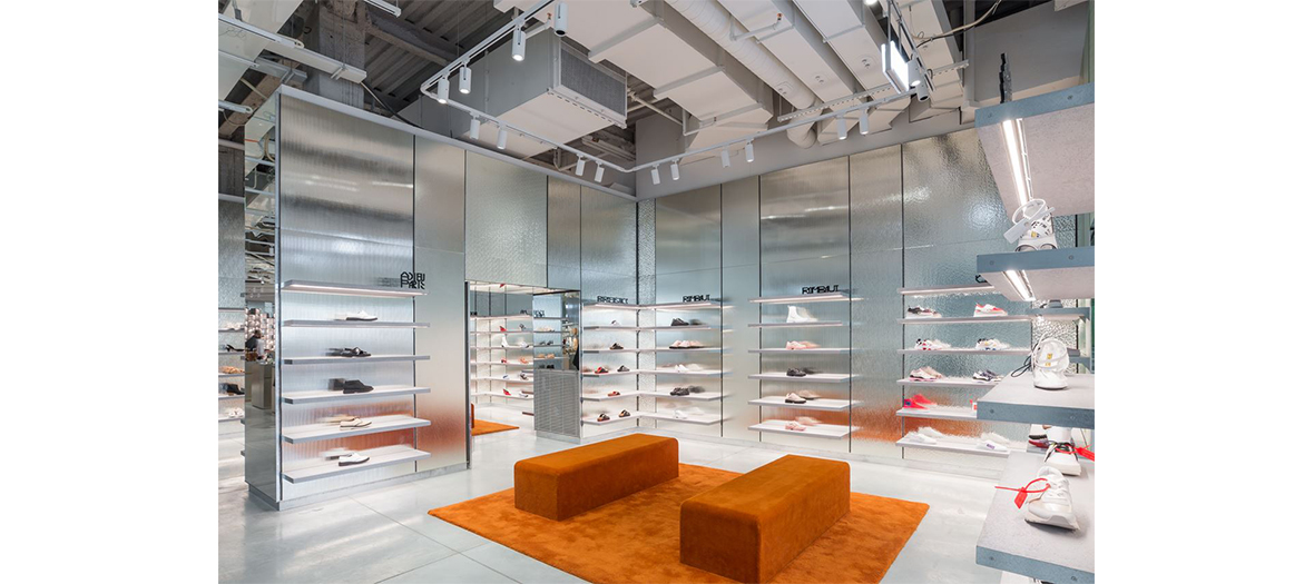 Le magasins Galeries Lafayette Champs-Elysées climatisé
