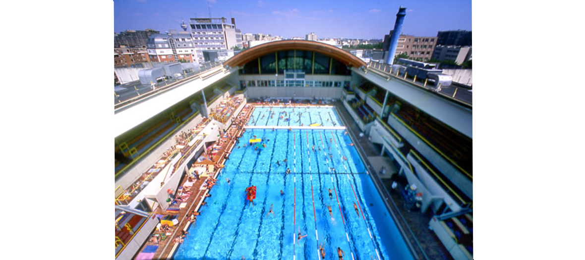 Piscine olympique extérieure