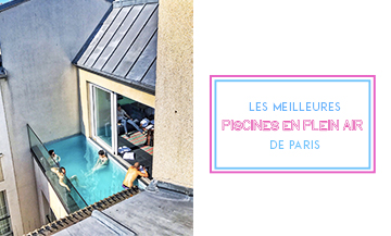 Piscine en plein air Paris