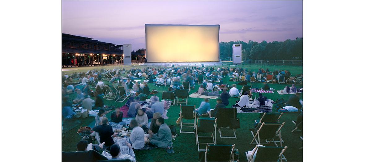 Cinéma en plein air au parc de la Vilette