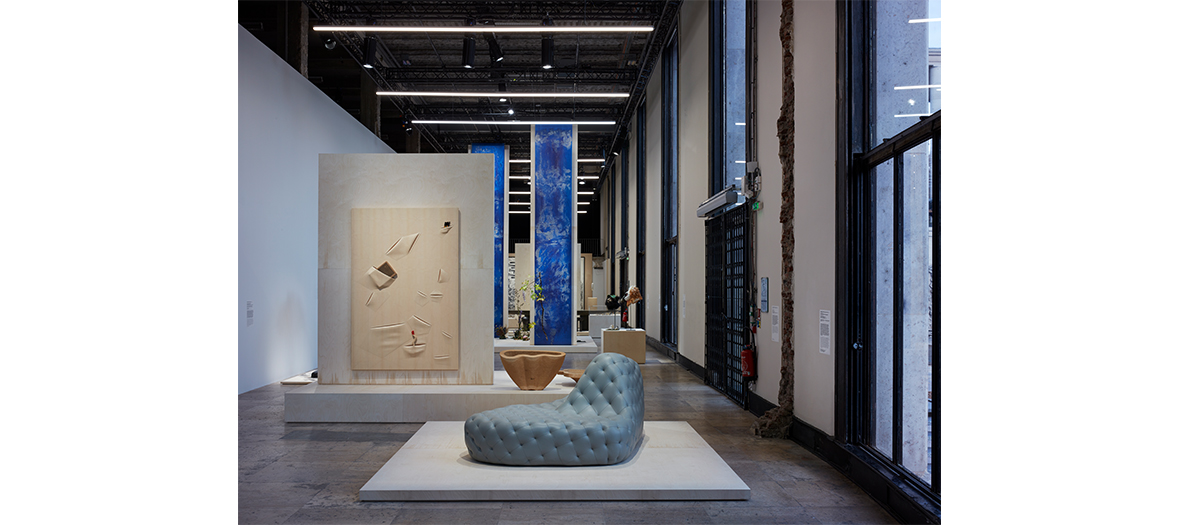 The exhibition The spirit begins and ends at the fingertips at the Palais de Tokyo Paris 16th