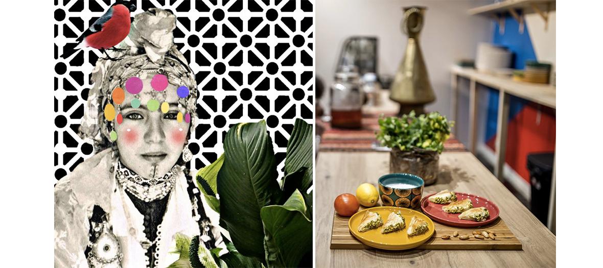 vaisselle artisanale, produits de beauté pour salle de bains de Harem des sens et atelier de découverte olfactif