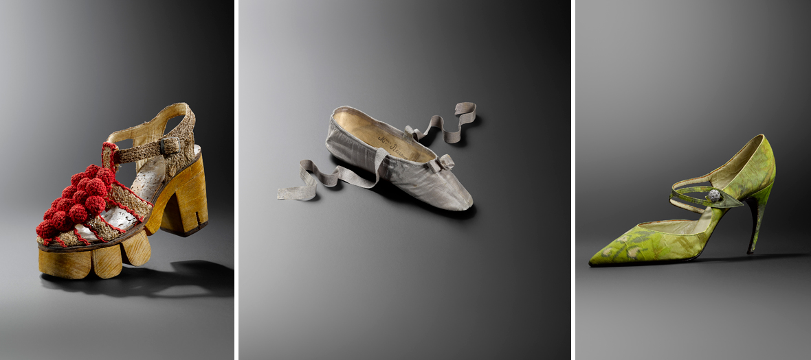 Marche et démarche. Une histoire de la chaussure au Musée des art décoratifs