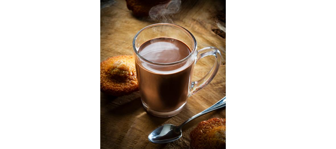 Chocolat chaud à la petite Manufacture Cluizel