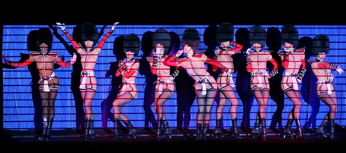 Les danseuses du Crazy Horse