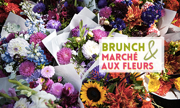 Un extraordinaire flower-market à Ground Countrol