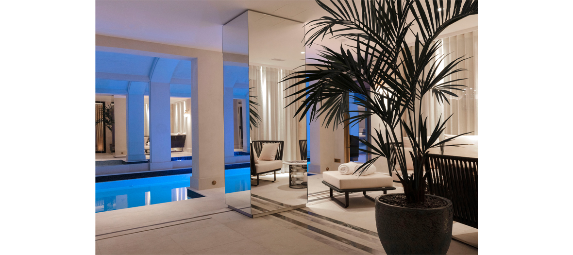 The Spa of the hotel Les Jardins du Faubourg