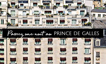 Win a night for two at the Prince de Galles
