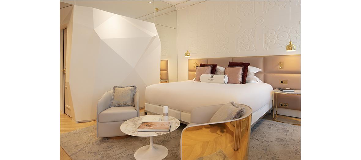 Chambre standard de l'hotel Bowmann