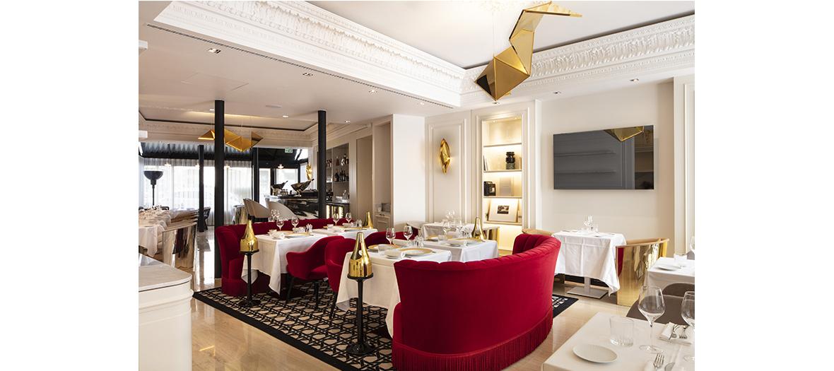 Salle de restaurant de l'hotel Bowmann