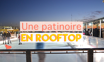 Patinoire tour Montparnasse