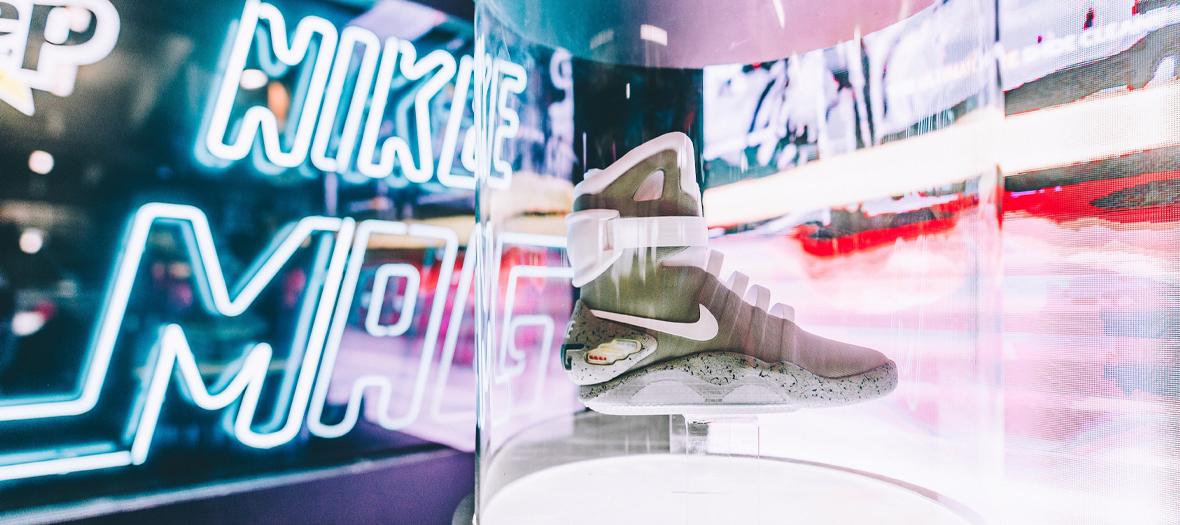 Une basket nike à l'Evenement Sneakerness de Paris