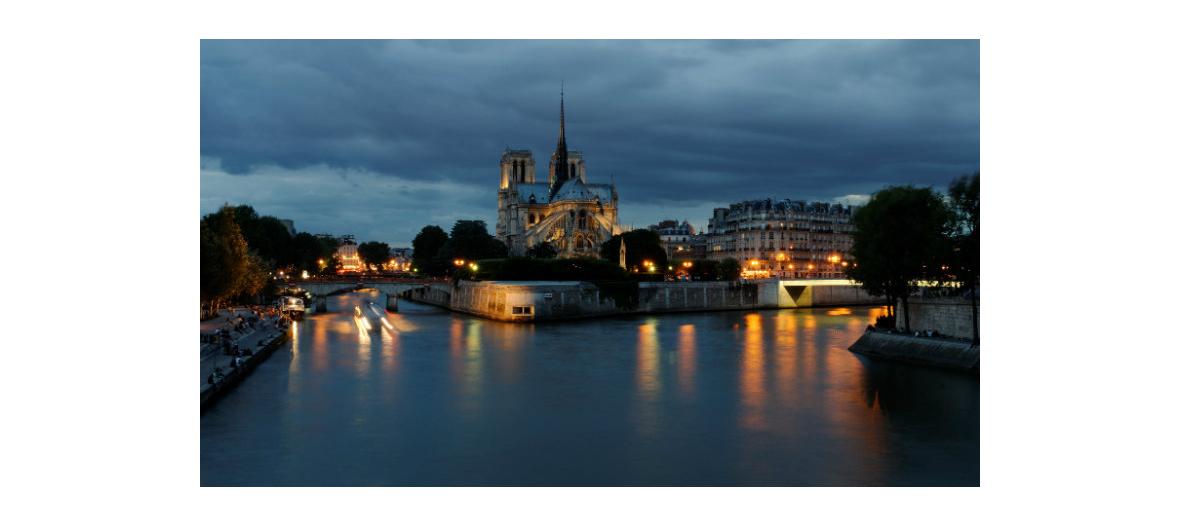 Balade nocturne dans Paris