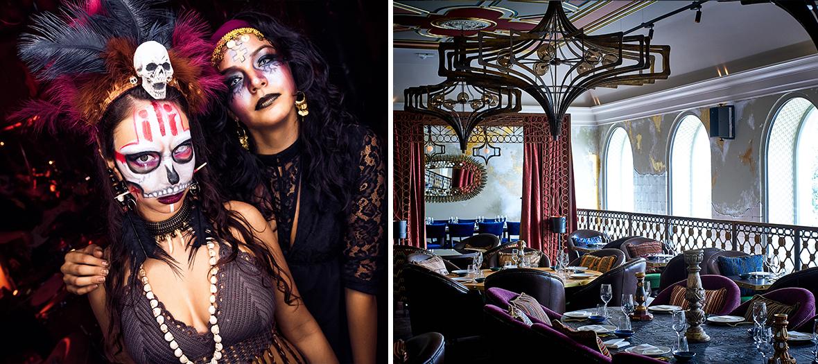 Soirée halloween et thème du vaudou à Paris