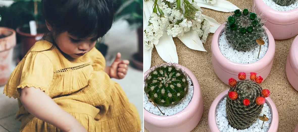 Ateliers de jardinage avec The Blond Cactus