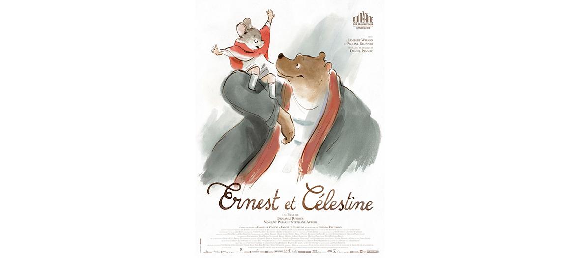 Affiche des aventures d'Erneste et Celestine