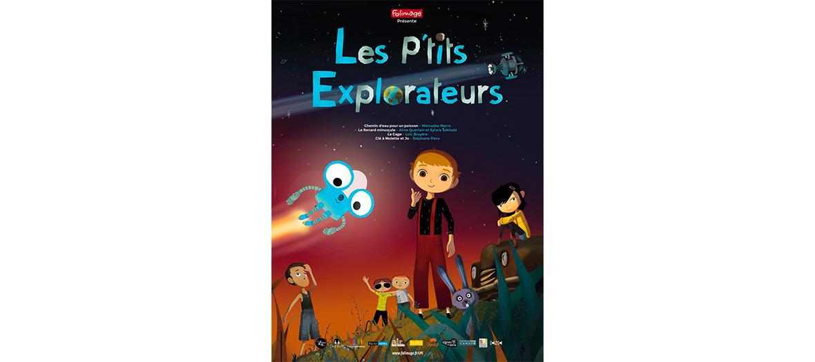 Affiche des petits explorateurs