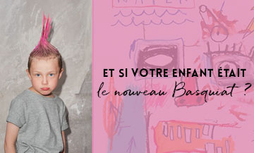 The Graff So Punk Workshop for kids Le Bon Marché