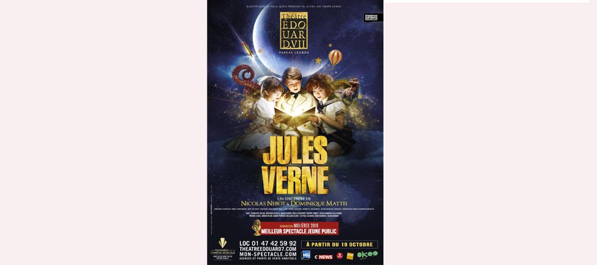 La comédie musicale Jules Verne au théâtre Edouard VII