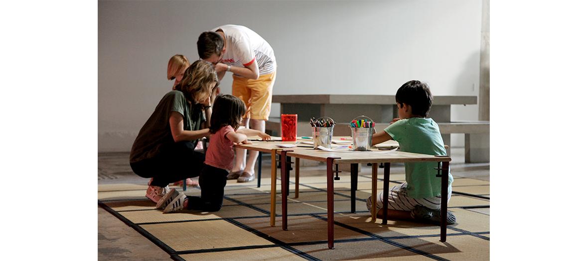 Un ateliers street art où créer une œuvre d'art ou construire un objet inédit pour enfant au Palais de Tokyo