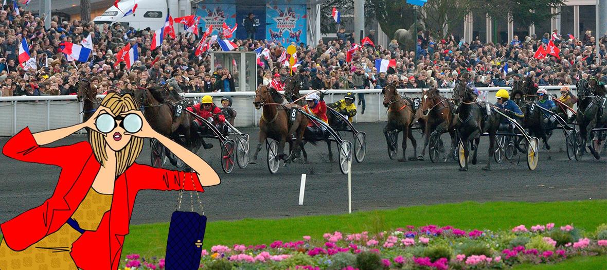 Course Hippique Prix D Amerique