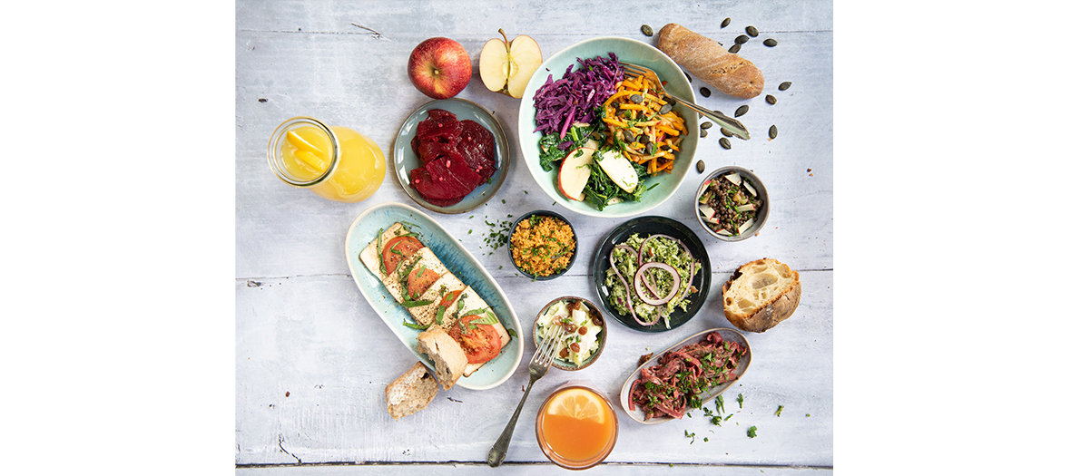 Hiltl veggie restaurant  meals