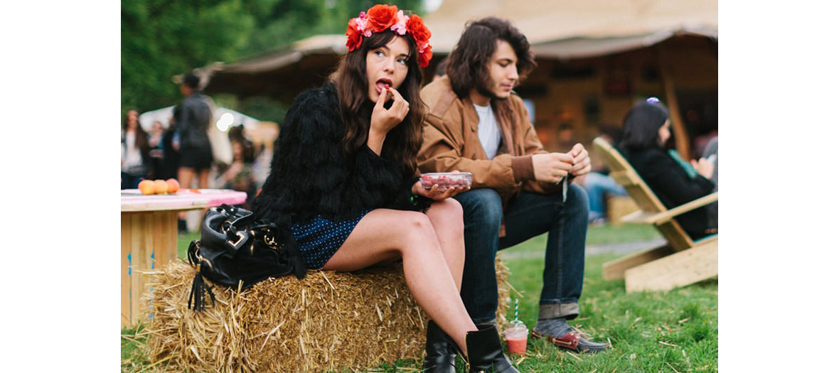 We love green festival in the bois de Vincennes