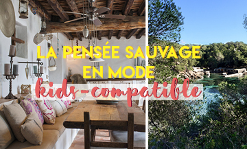 La pensée sauvage in kids-friendly mode in Ibiza